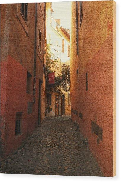 Romano Cartolina Wood Print
