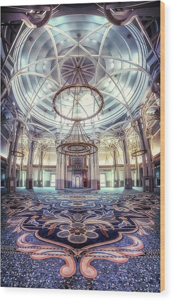 Rome Great Mosque Wood Print