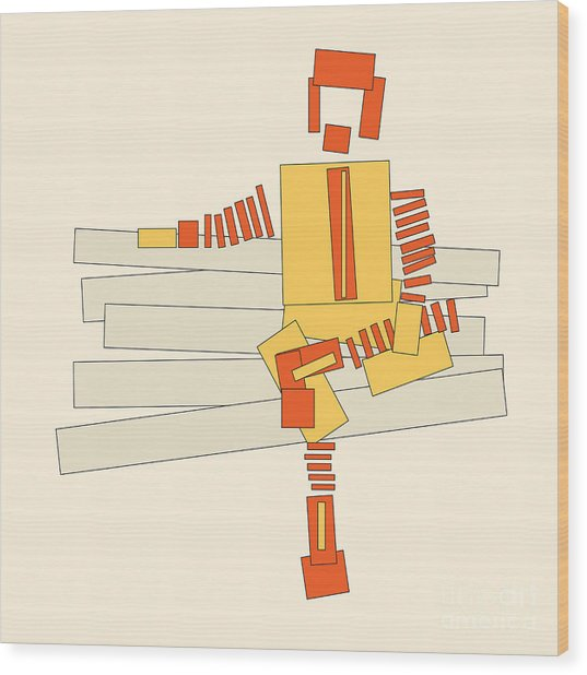 Ronald Mcdonald Wood Print