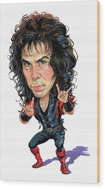 Ronnie James Dio Wood Print