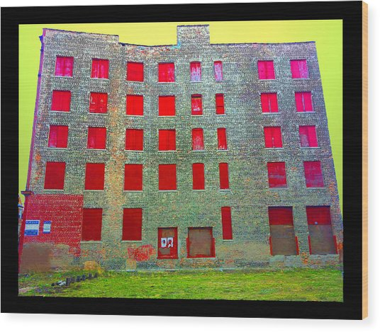 Rooms With No View Wood Print