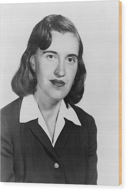 Rosalyn Sussman Yalow (1921-2011) Wood Print by Granger