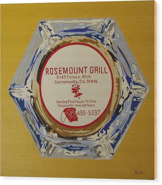 Rosemount Grille Wood Print by Paul Guyer