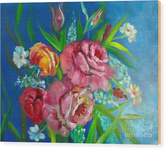 Roses Roses Jenny Lee Discount Wood Print