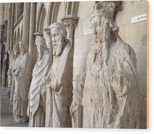 Rouen Cathedral Francel Ireland Wood Print