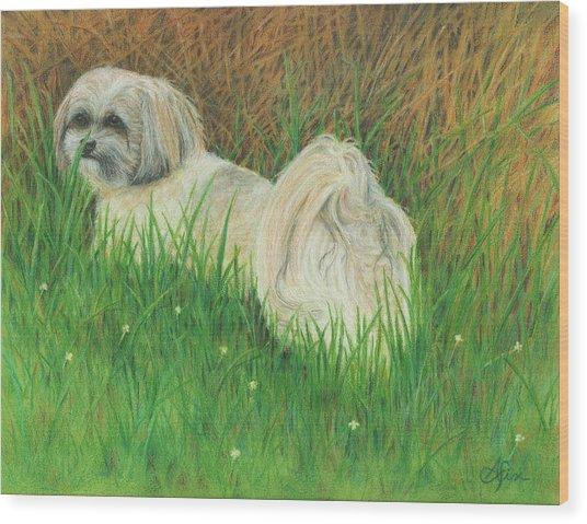 Roxey Wood Print