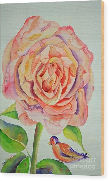 Roya  Dream Wood Print