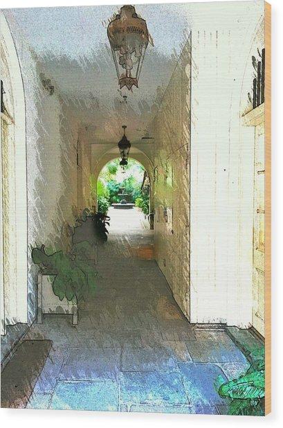 Royal Entrance Wood Print