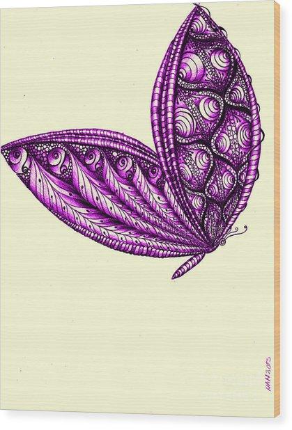 Royal Flight Wood Print by Anca S