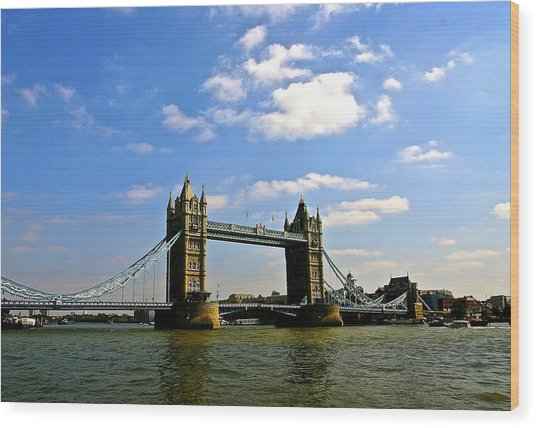 Royal London Bridge Wood Print