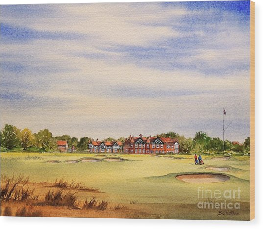 Royal Lytham And St Annes Golf Course Wood Print