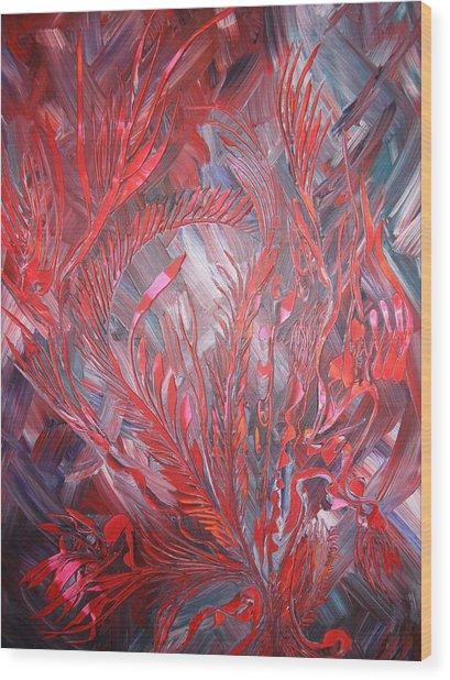 Royal Wood Print by Nico Bielow