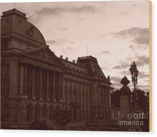 Royal Palace Brussels Wood Print