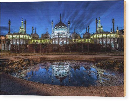 Royal Pavilion Brighton Wood Print