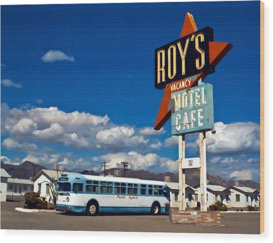 Roy's 2002 Wood Print