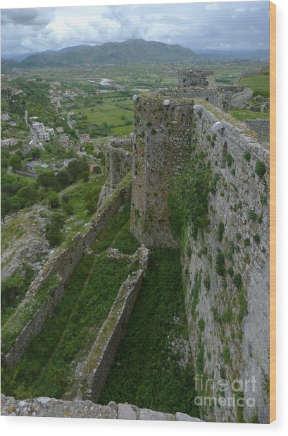 Rozafa Castle - Albania Wood Print