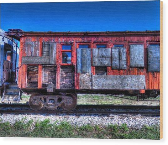 Ruby On Rails Wood Print