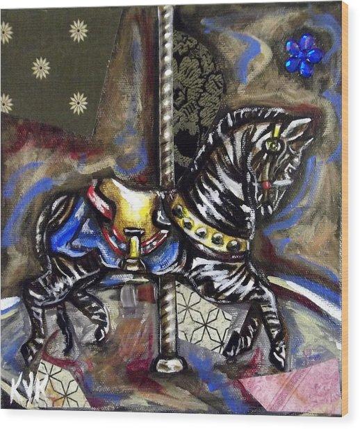Ruby's Zebra Wood Print