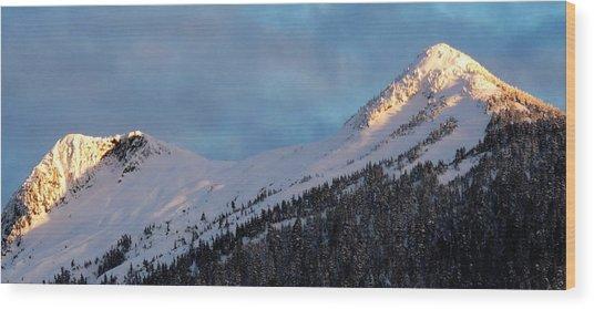 Rugged Ridge Wood Print