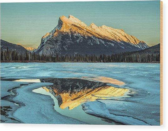 Rundle Reflection Wood Print