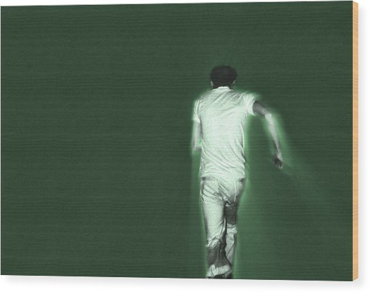 Running In The Green Wood Print