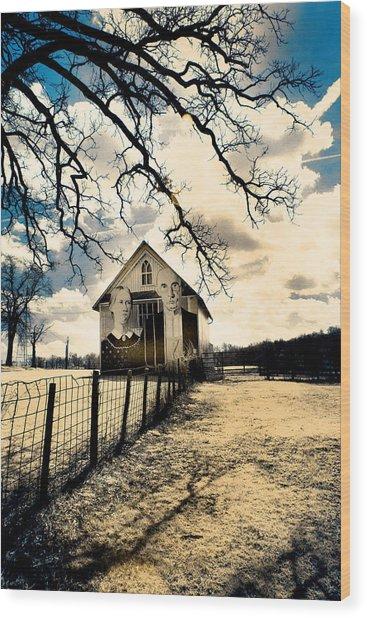 Rural Americana #2 Wood Print