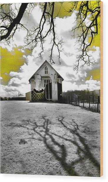 Rural Americana Wood Print
