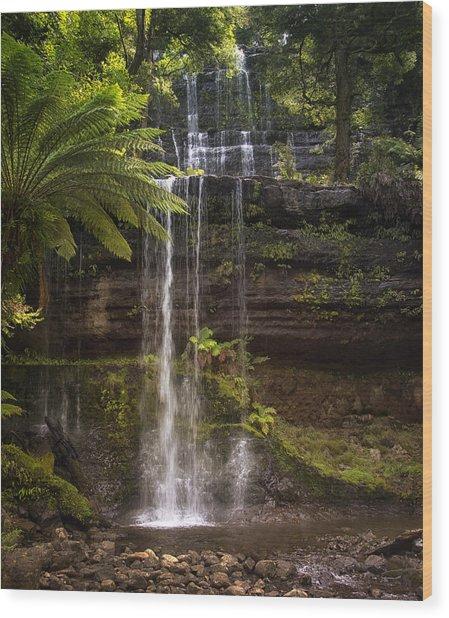 Russell Falls Wood Print