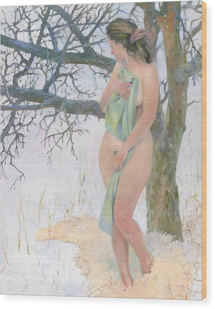 Russian Sauna Mmxii  Wood Print