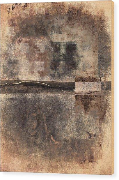 Rust And Walls No. 2 Wood Print