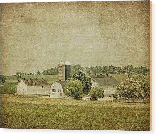 Rustic Farm - Barn Wood Print