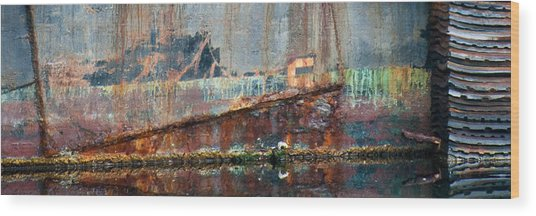 Wood Print featuring the photograph Rustic Hull by Jani Freimann