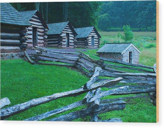 Rustic Life Wood Print