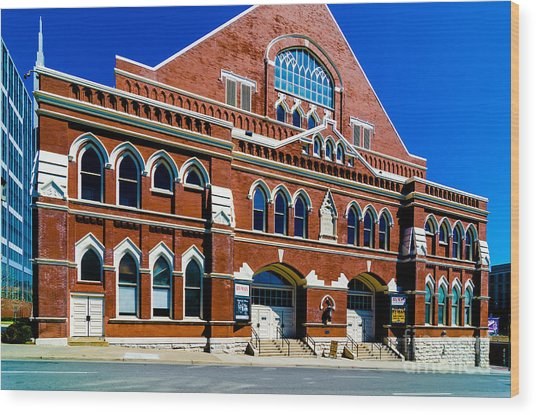 Ryman Auditorium  Wood Print