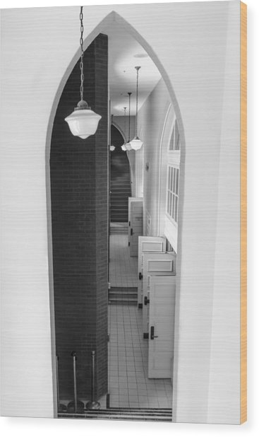 Ryman Auditorium Entrance Wood Print