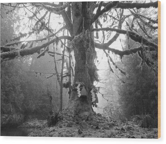 Sacred Tree No. 2 Wood Print