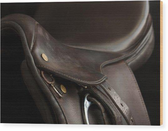 Saddle 1 Wood Print