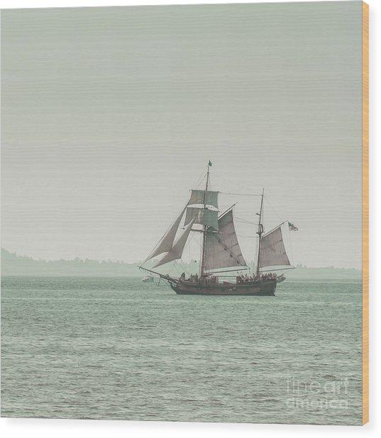 Sail Ship 2 Wood Print