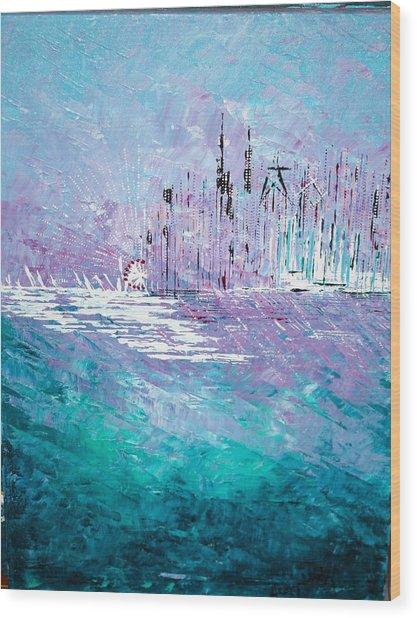 Sailing South - Sold Wood Print
