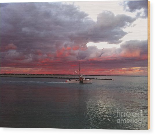 Sailors Delight 2 Wood Print