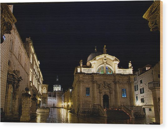 Saint Blaise Church - Dubrovnik Wood Print