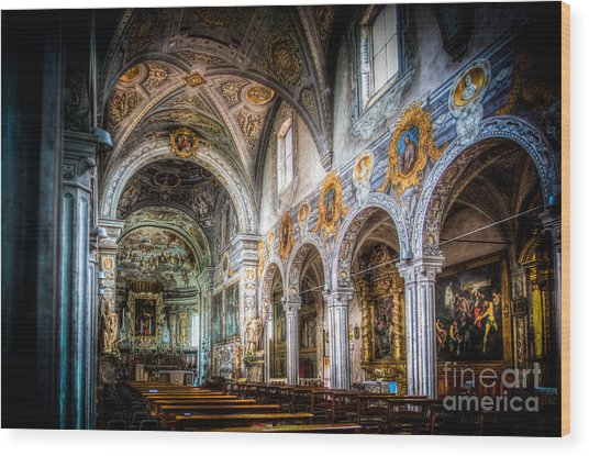 Saint George Basilica Wood Print