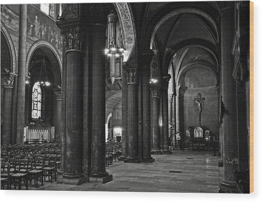 Saint Germain Des Pres - Paris Wood Print