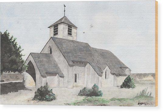 Saint-jean-baptiste A Chassignelles Wood Print