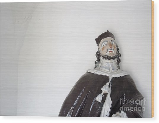 Saint John Of Nepomuk Wood Print by Agnieszka Kubica