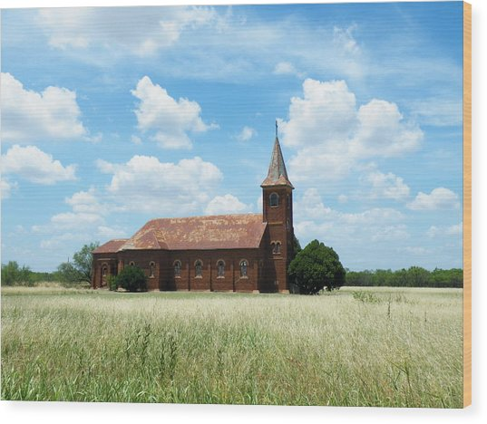 Saint John's Catholic Church Wood Print