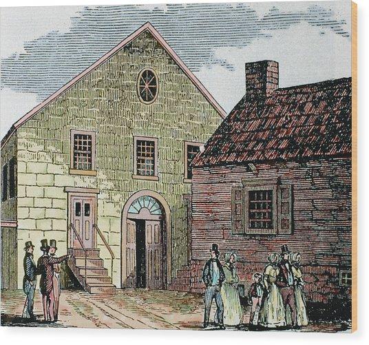 Saint John's Methodist Church Wood Print
