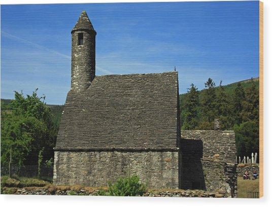 Saint Kevin's Church Wood Print