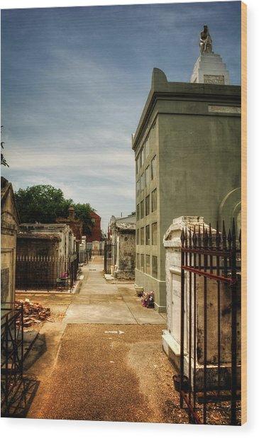 Saint Louis Cemetery Number 1 Wood Print