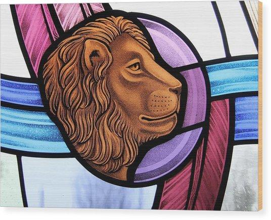 Saint Mark Lion Wood Print